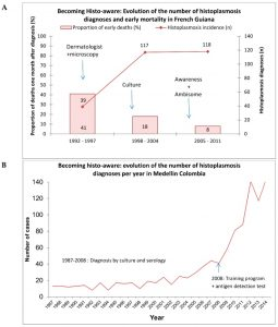 Frequency of the Mating-Type (MAT1) in Histoplasma capsulatum Isolates from Buenos Aires, Argentina